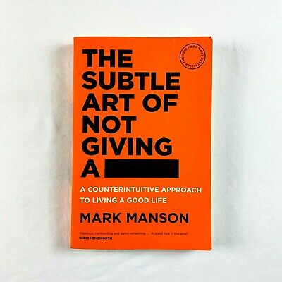 AU19.49 • Buy The Subtle Art Of Not Giving A F*ck Book By Mark Manson