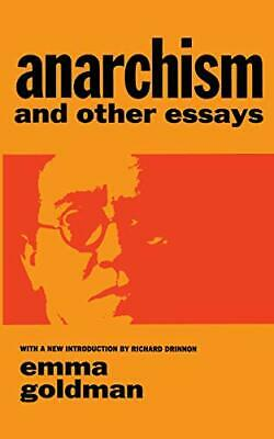 AU17.78 • Buy Anarchism And Other Essays (Dover Books On Histor... By Goldman, Emma 0486224848