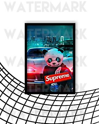 £5.99 • Buy Supreme Hypebeast Wall Art Iconic Poster A4