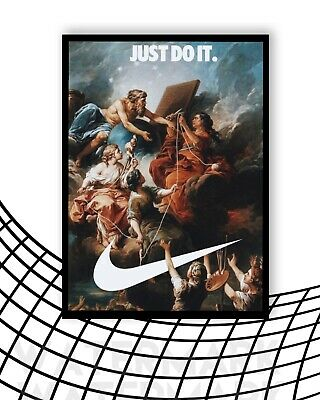 £5.99 • Buy Nike Just Do It Logo Angelic Rare Poster Art Print / Print Gift A4