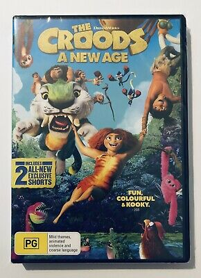 AU14.80 • Buy The Croods : A New Age DVD NEW & SEALED** PG Region 4 Aus Kids Animation Movie