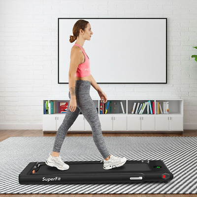 AU726.28 • Buy 2 In 1 2.25 HP Under Desk Electric Installation-Free Folding Treadmil  With Blue