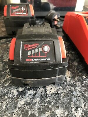 Milwaukee M18 RED 3.0Ah Battery For Cordless Power Tools - Black (M18BX) • 26£