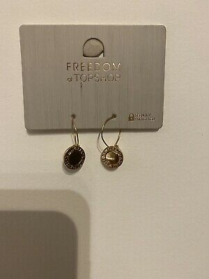 Freedom At Topshop Gold Earrings • 4£