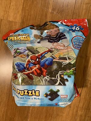 £8.50 • Buy Marvel Universe Spiderman 46 Piece Floor Jigsaw Puzzle 24x36 Inches Ages 6+