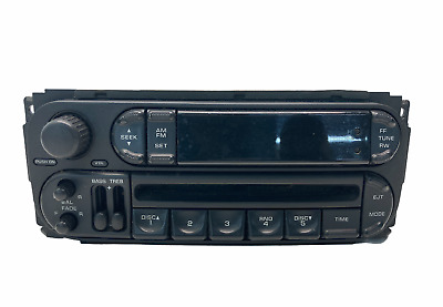 $79.99 • Buy 02-05 Jeep Grand Cherokee Chrysler Dodge Radio Stereo CD Player Control Unit OEM