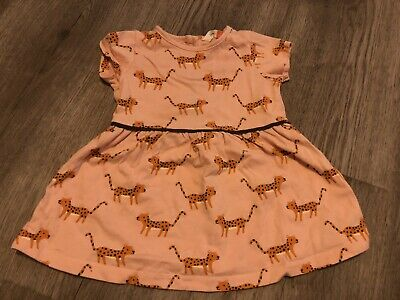 AU2.52 • Buy John Lewis Baby Girl 3-6 Months Pink Dress Cheetah Excellent Condition