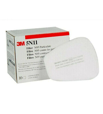 AU18.99 • Buy 3M 5N11 Niosh OEM Filters For 6200 6800 7502 SEALED Box Of 10 --- Ships From USA