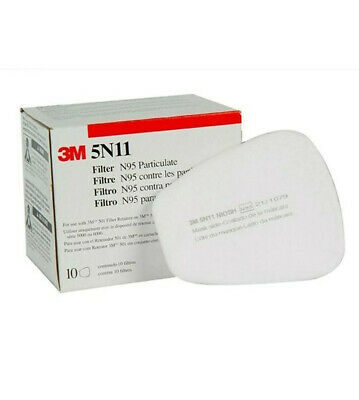 $ CDN18.08 • Buy 3M 5N11 Niosh OEM Filters For 6200 6800 7502 SEALED Box Of 10 --- Ships From USA