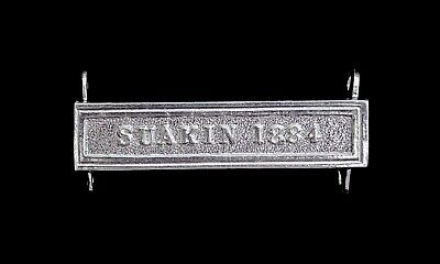 £21 • Buy Egypt Medal Suakin 1884 Clasp Silver