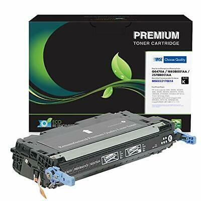 $ CDN105.52 • Buy MSE Brand Remanufactured Toner Cartridge For HP 501A Q6470A   Black 6000