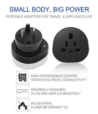 AU13.95 • Buy AU STOCK Universal Australia Travel Power Plug Adapter Converter US/EU/UK To AU