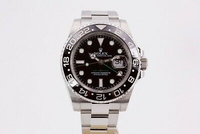 $ CDN17898.07 • Buy Rolex GMT-Master II 116710LN Black Dial Box And Papers 2015
