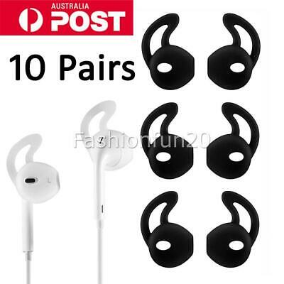 AU10.95 • Buy 10 Pairs Airpods Earpods Ear Hook Cover For Apple Earbuds Ear Tips Silicon AU