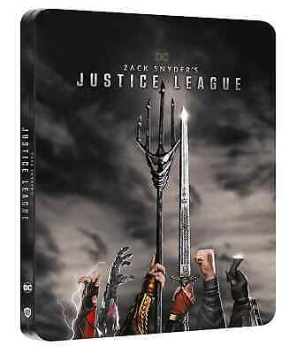 AU70.31 • Buy Zack Snyders Justice League 4K Uk Limited Edition Bluray Steelbook Pre Order!!