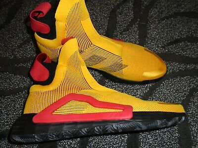 AU90.48 • Buy ADIDAS N3XT L3V3L Basketball Laceless Shoes Men's Size 13 F36292  Yellow NEW