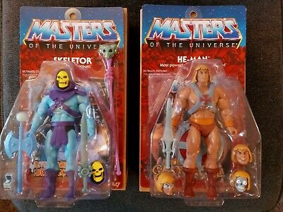 $225 • Buy Super7 He-Man & Skeletor Ultimates Filmation Figures Opened