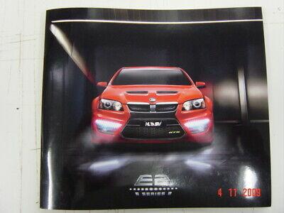 AU30 • Buy Holden Hsv E-series 2 E2 Range Booklet Brochure 9 2009 Hsc332 Excellent Conditio