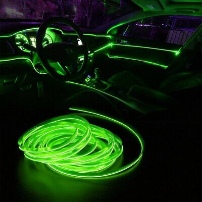 $8.99 • Buy 2M Green LED Car Interior Decorative Atmosphere Wire Strip Light Lamp For Toyota