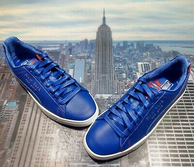 Puma Clyde Low NYC New York Knicks Royal Blue Mens Size 10 372310 01 New • 72.02£