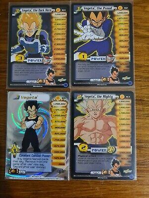 AU140 • Buy DBZ Ccg Score Vegeta Cards. Some Foils, Rare, Hi Tech & Limited. 49 Cards.