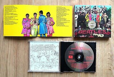 £2.99 • Buy The Beatles Sgt Peppers Lonely Hearts Club Band UK 1987 Cd Inc Booklet Slip Case