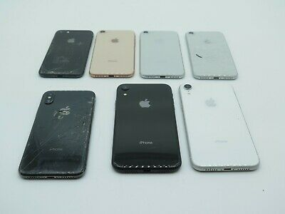 $ CDN215.50 • Buy Lot Of 7 Apple IPhone 8, X, XR As-Is/Broken/For Parts UNTESTED