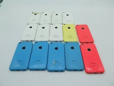 $ CDN71 • Buy Lot Of 14 Apple IPhone 5C As-Is/Broken/For Parts UNTESTED A1532