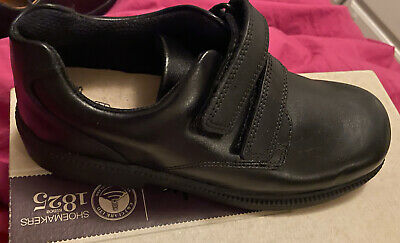 £24.99 • Buy Boys Clarks Deaton Black Leather Inf School Shoes, Brand New Uk Size 8.5 H EU 26