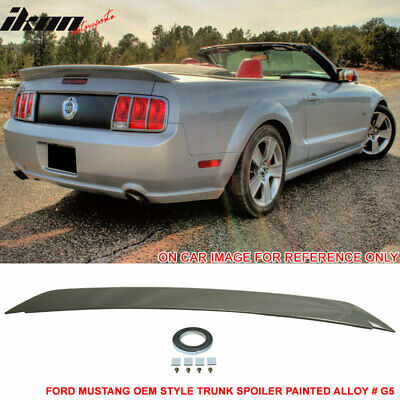 $135.99 • Buy Fits 05-09 Ford Mustang Trunk Spoiler  Painted  Alloy # G5 - ABS