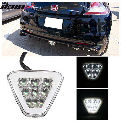 $29.99 • Buy Universal Triangle Clear LED Rear Tail 3RD Brake Lights Safety Lamp