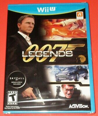 $29.95 • Buy 007 Legends Nintendo Wii U *New! *Factory Sealed! *Free Shipping!