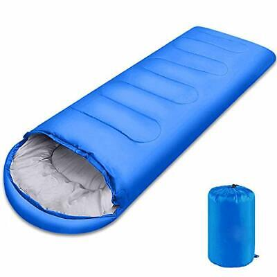 $28.34 • Buy Adult Sleeping Bag W/t Sack For Big&Tall - 0 Degree Portable Waterproof Camping