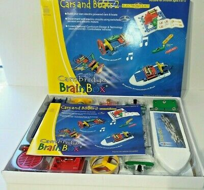 £35 • Buy Cambridge Brainbox Electronics Kit 'Cars And Boats 2' + John Adams Hot Wires