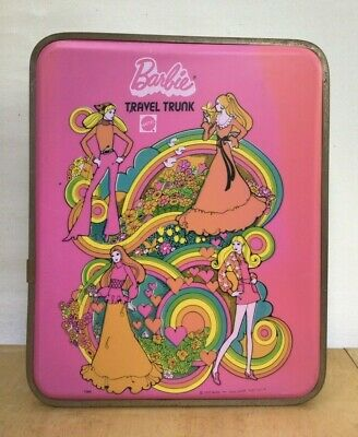 $ CDN30.22 • Buy Vintage 1972 MOD BARBIE TRAVEL TRUNK Doll Case