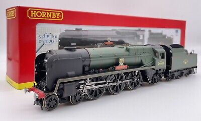 Hornby R2708 BR 4-6-2 Rebuilt West Country 34008 Padstow OO Gauge • 199.99£