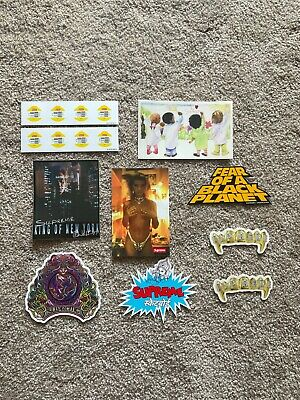 $ CDN18.80 • Buy Lot Of 10 Various Supreme Stickers