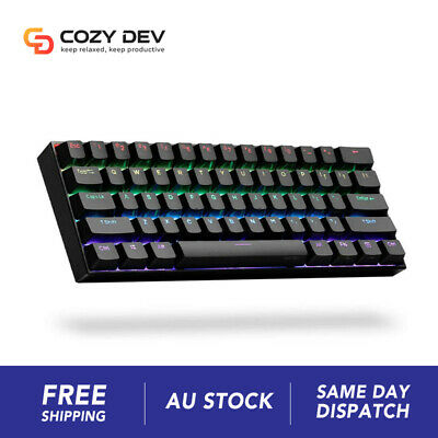AU115.45 • Buy [Gateron Switch] ANNE PRO 2 60% Wired/Wireless Mechanical Gaming Keyboard