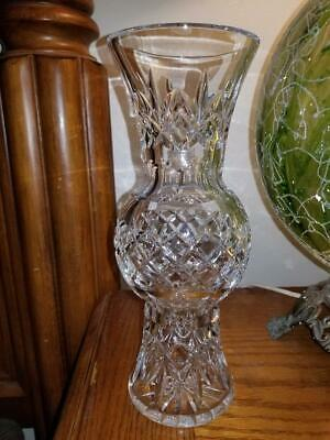 Waterford Crystal Vase - Lismore Collection - Diamond Cut - Rare - Retired • 87£
