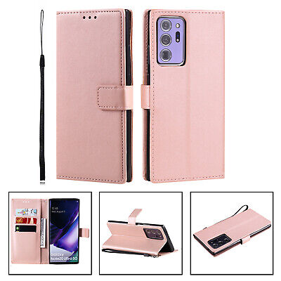 AU7.99 • Buy Leather Flip Card Wallet Stand Cover Case For Samsung S21 S21+ S20 S10 S9 Note20