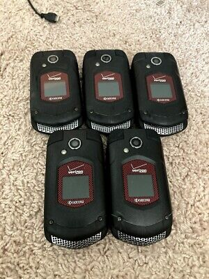 $ CDN62.63 • Buy Lot Of 5 Kyocera E4520PTT DuraXV Push To Talk Rugged Waterproof Cell Phones