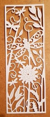 £2.50 • Buy 10 Tattered Lace Dragonfly Panel Die Cuts