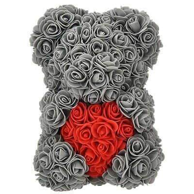 AU14.49 • Buy Over 250 Flowers On Each Rose Bear,Gift For Mother's Day,Valentine's Day,An W6C7