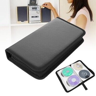 AU9.88 • Buy Portable 80x Disc CD VCD DVD Carry Bag PU Wallet Car Storage Holder Cover Case
