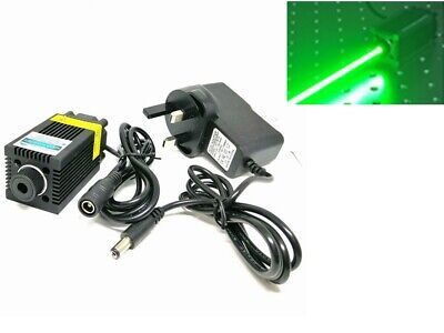 AU222.63 • Buy Focusable 520nm 1W Green Laser Dot Module Sculpture Light 12V