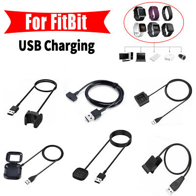 $ CDN5.25 • Buy For Fitbit Alta/HR/Charge/versa2 3/Inspire/Blaze Charging USB Cable Charger Lead