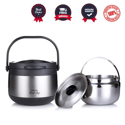 AU292.15 • Buy Thermos Vacuum Insulated Food Jar 3 Litre Lunch Container Thermos Hot Lunch Box