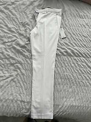 $ CDN20.73 • Buy Men's Next Trouser 32R Slim Fit Cream Brand New With Tags