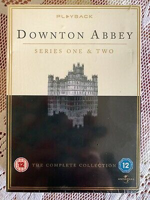 £9.99 • Buy Downtown Abbey Series 1 & 2 Dvd The Complete Collection  New Free P&p