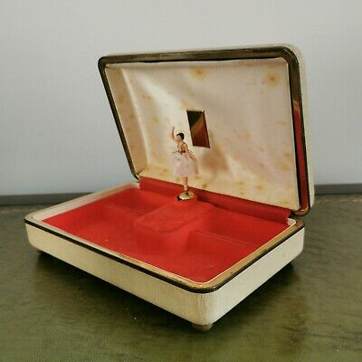 £15 • Buy Reuge Jewellery Music Box With Ballerina. Not Working, Damaged.